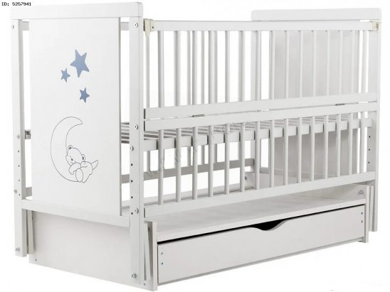 Детская кроватка ТМ Дубок Дубик Медведик